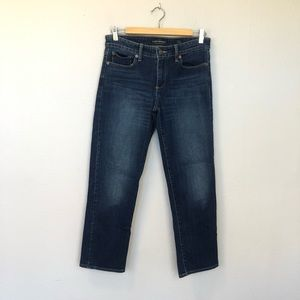 Lucky Brand Jeans Sweet Crop Blue Jeans Size 6